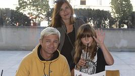 Kryštof Michal s rodinkou