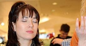 Tereza Kostková po dlouhé době ochutnala čokoládu.