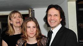 Janek s dcerou a manželkou Zuzanou.