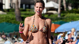 Brooke Burns na Havaji.