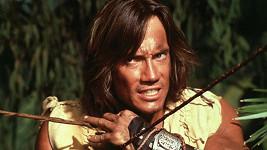 Kevin Sorbo jako Herkules ve stejnojmenném populárním seriálu