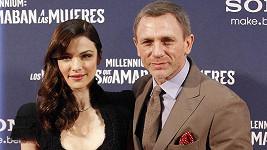 Daniel Craig s manželkou Rachel Weisz.