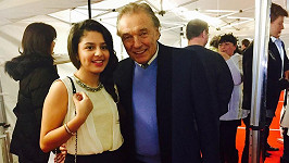 Karel Gott a o 63 let mladší Diana Kalashová