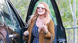 Lindsay Lohan je jako vyměněná...