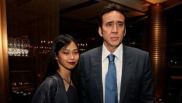 Nicolas Cage a Riko Shibata vyrazili na premiéru.