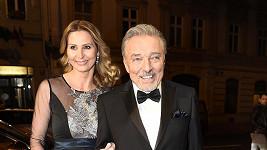 Ivana s manželem Karel Gottem