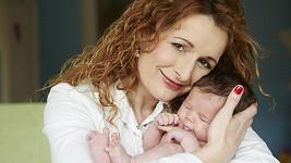 Markéta Muzikářová s dcerou