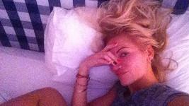 Takhle vypadá Dara Rolins ráno krátce po probuzení.
