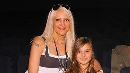 Mirjam Landová s dcerou Anastázii.