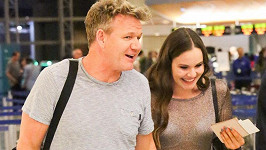 Gordon Ramsay s jeho sedmnáctiletou dcerou Holly