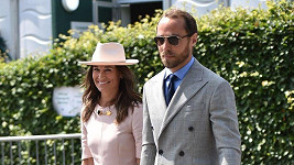 Pippa Middleton na Wimbledonu