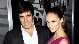 David Copperfield se snoubenkou Chloe Gosselin