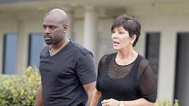 Kris Jenner a její nový objev Corey Gamble