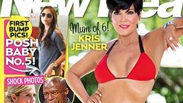 Kris Jenner na obálce magazínu New Idea.