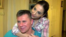Michaela Kuklová s přítelem Jiřím Kášem