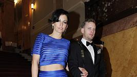 Agáta s manželem Jakubem na České Miss