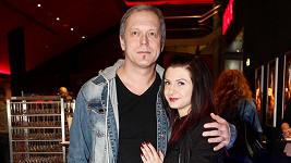 Viktor Dyk s přítelkyní
