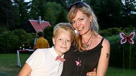 Syn Bohouše Josefa s maminkou Danou