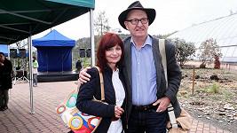 Ljuba Krbová s manželem Ondřejem Neffem