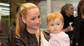 Markéta Divišová s dcerou Natálkou.
