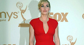 Kate Winslet na předávání cen Emmy v Los Angeles.