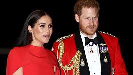 Princ Harry a jeho žena Meghan
