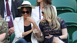 Meghan si na Wimbledonu nepřála, aby ji kdokoliv fotil.