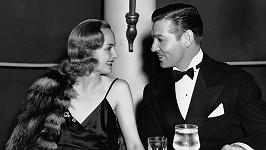Carole Lombard a Clark Gable