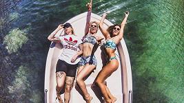 Na sluníčku se holky z Bloges Robes nadšeně odhalovaly.