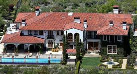 Kalifornský palác, který prodává Heidi Klum se svým manželem.