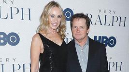 Michael J. Fox si vyrazil na premiéru s manželkou Tracy Pollan.