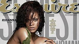 Rihanna na obálce magazínu Esquire.