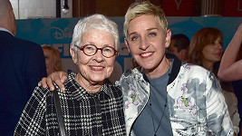 Ellen DeGeneres s maminkou Betty