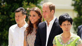 Kate a William v Singapuru.