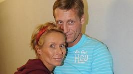 Tereza Pergnerová s přítelem Jiřím Chlebečkem.