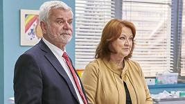 Zlata Adamovská a Petr Štěpánek v Ordinaci zůstávají.