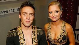 Kristýna Coufalová a Roman Vojtek v roce 2006, kdy vyhráli první řadu StarDance.