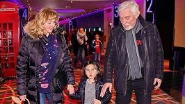 Jan Rosák s vnučkou