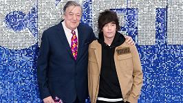 Stephen Fry s partnerem Elliottem Spencerem