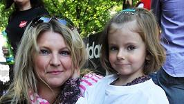 Noemi Muková s maminkou Evou.