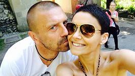 Vlaďka Erbová a Tomáš Řepka vážně nevypadají jako rozvádějící se pár.