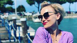 Vlastina Svátková vyrazila s rodinou k moři do Itálie.