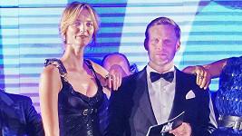 Jakub Prachař na starším snímku s modelkou Denisou Dvořákovou