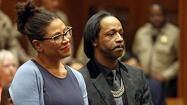Katt Williams začíná být u soudu jako doma... Zde na snímku z loňského října.