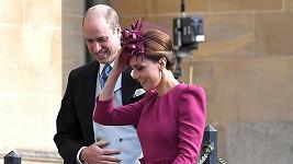 Vévodkyně Kate s princem Williamem