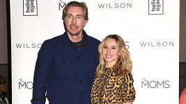 Kristen Bell s manželem Daxem Shepardem