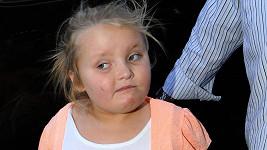 Americká hvězdička reality show Alana Thompson známá jako Honey Boo Boo měla nehodu.