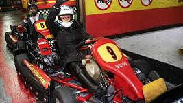 Ivana Andrlová na motokárách
