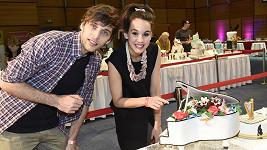 Míša s Romanem si na finále přišli vybrat svůj svatební dort.