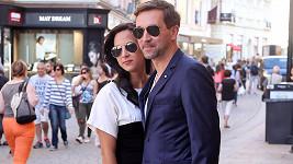 Ondřej Sokol s přítelkyní Nikolou